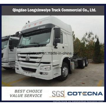 Precio barato del camión del tractor de HOWO Prime Mover 6X4 420HP