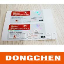Professional Custom Best Design Anti-Fake Security Hologram Vial Label