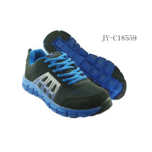Navy lace up sport shoes low price