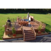 Projeto de Decking plástico composto de madeira com CE, Fsc, SGS, Certificado