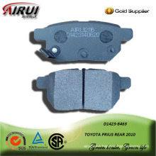 SEMI-METALLIC CAR BRAKE PAD FOR TOYOTA PRIUS REAR 2010