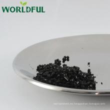 Ácido húmico columnar con alta calidad, ácido húmico del fertilizante orgánico de Leonardite / del lignito