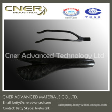 Made to order supply type high strength road/mountain bike carbon fiber frame, carbon fiber part