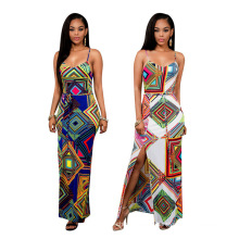2017 New summer women model lady casual dress