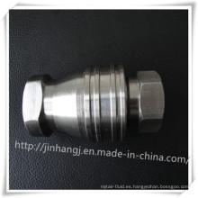 Conector neumático de bola de acero inoxidable
