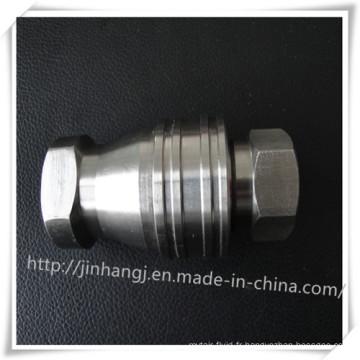 Connecteur pneumatique à billes en acier inoxydable