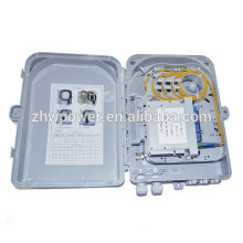 Shenzhen factory supply 16 outdoor fiber optic distribution box for FTTH FTTB FTTX Network