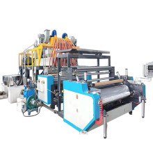 Machine de fabrication de film étirable en fonte