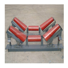 Types de pièces du rouleau de renvoi du convoyeur conique