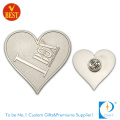 Custom High Quality Brand Custom Metal Color 2D Pin Badge From China