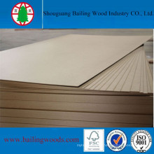3mm E0 Grade Plain/Raw MDF for Home Furniture Use