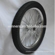wide steel bicycle wheel 16 inch