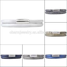 Vente en gros 2016 Bracelet en cuir de mode de dernière conception ELBS15028