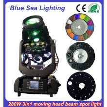 china new 280w beam spot moving head beam light