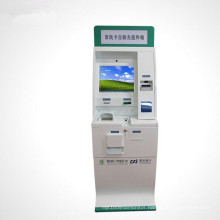 Lobby Medical Card Reader Bill Payment with Self-Service Kiosk