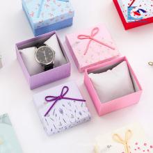 Joyeros personalizados al por mayor caja de regalo de joyería blanca personalizada con su logotipo barato