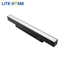 Types de lumière linéaire led 10w de lumière sur rail