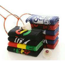 Serviette de sport en coton personnalisée pour la salle de sport