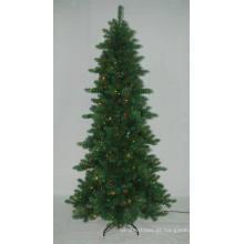 Realista Artificial Árvore de Natal com String light Multi Color LED Decoration (ATA2)