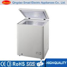 200л Домашний мини-верхние открытые горизонтальные холодильник с морозильной камерой