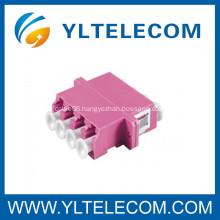 LC OM4 Fiber Optic OM4 Adapter , Fiber Optic OM4 Lc Adapter IL 0.2dB Multimode