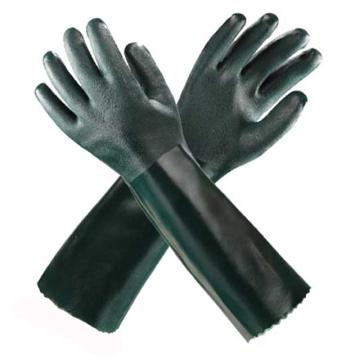 Guantes de protección largos de PVC