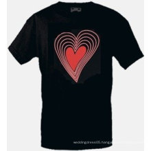 [Stunningl]Wholesale fashion hot sale T-shirt A59,el t-shirt,led t-shirt