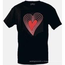 [Stunningl]Оптовая моды горячей продажи футболки А59,El футболки,LED футболки