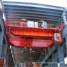 Factory made hot-sale for Double Girder Gantry Crane Double Girder Overhead Crane With Hook export to American Samoa Supplier