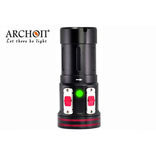 Torche à LED de 50 watts pour équipement de plongée de caméra Gopro avec système de bras à bille de 1 po