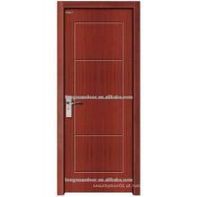 Entrada principal de madeira porta de madeira para o design do hotel