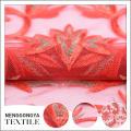 Tela neta hermosa profesional de la fábrica de China bordada