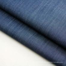Tela de mezclilla teñida añil hilado del algodón del algodón para el vestido y la camisa