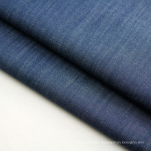 Stock Cotton Yarn Dyed Indigo Denim Fabric for Dress and Shirt