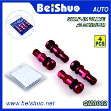 4PCS Set Auto Car Tire Tyre Valve with Blister Packing