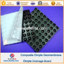 Géomembrane de Dimple de HDPE pour l'ingénierie de construction