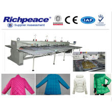 Máquina de costura automática Richpeace ---- Moda Down jaqueta, jaqueta de couro,