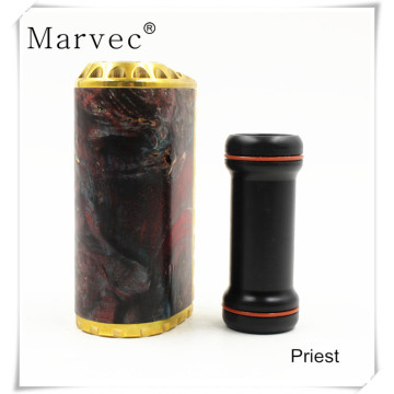 Priest stable wood brass material custom vape mods