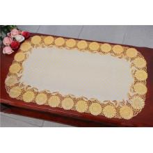 PVC Spitze Tischset / Tischset mit Gold oder Silber