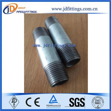Galvanized Barrel Nipple/Pipe Nipple SCH40 NPT