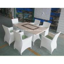 Открытый сад Ресторан Обеденные столы Мебель