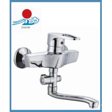 Messing Körper einzigen Handgriff Küchenarmatur (ZR20903)