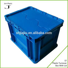 double color logistics plastic turnover crate mold