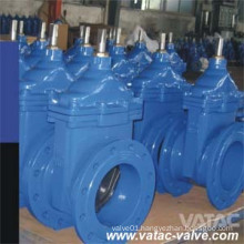 Resilient Seat Ci/Di Bare Shaft Gate Valve