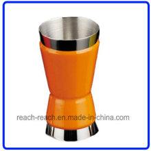 Джиггер из нержавеющей стали, вино Кубок матч фляга (R-HF011)