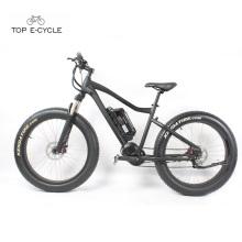 Vente chaude 26 pouces fourche avant suspension gros pneu montagne vélo électrique
