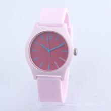 Großhandelsuhren für Kinder Japan Bewegung Kunststoffgehäuse Silikon Uhr