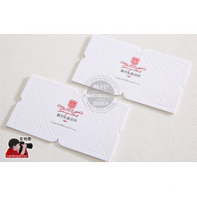 Embossed Business Card, Plastic Business Card