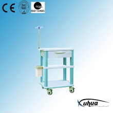 ABS Plastic Hospital Medical Treatment Trolley (P-1)