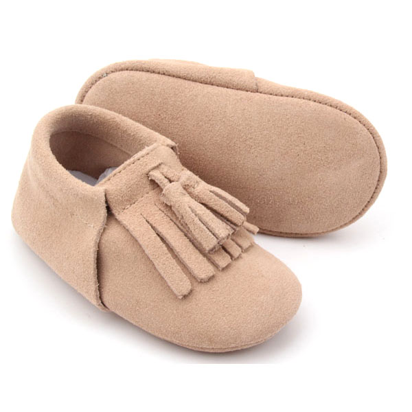 Suede Leather Baby Shoes